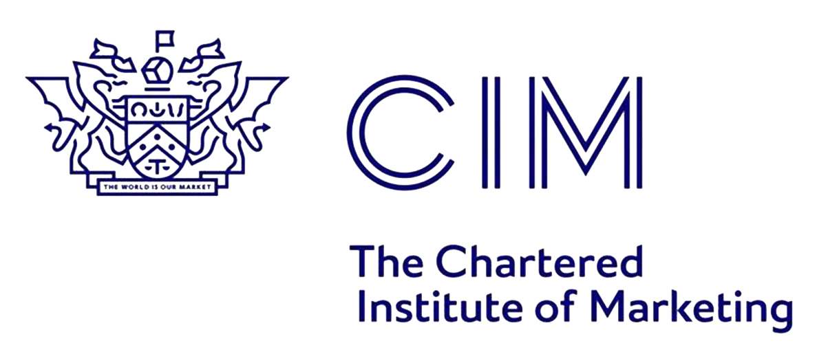 This is the logo of the Chartered Institute of Marketing
