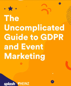 The uncomplicated guide to GDPR and event marketing