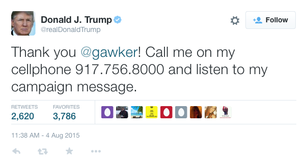 Gawker Tweet