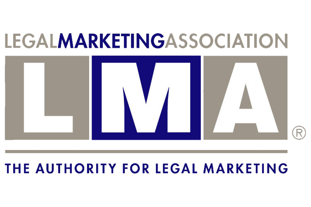 This is the logo of the Legal Marketing Association.
