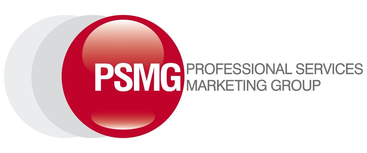 This is the logo of the Professional Services Marketing Group